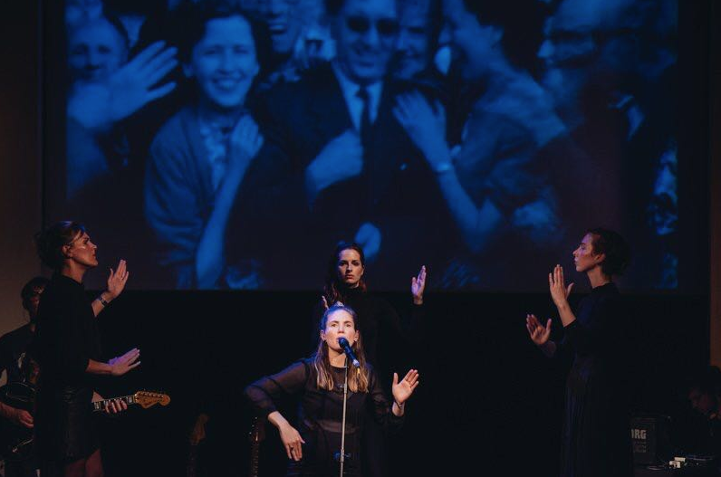 Seeing Voices - A collaboration between the band Womans's Hour and BSL Performers 2016 -